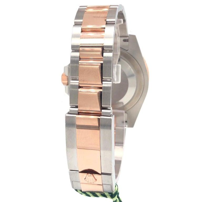 Women's or Men's Rolex GMT-Master II 126711CHNR Black Dial Root Beer Bezel Oyster Bracelet For Sale