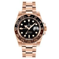 Rolex GMT-Master II 126715 Rootbeer 18k Everose Gold Ceramic Vintage Bezel Watch
