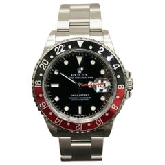 Rolex GMT Master II 16710 Black and Red Coke Bezel Stainless Steel