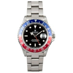 Rolex GMT Master II 16710, Case, Certified and Warranty