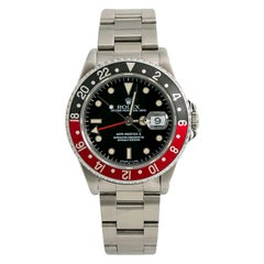 Rolex GMT Master II 16710, Certified and Warranty