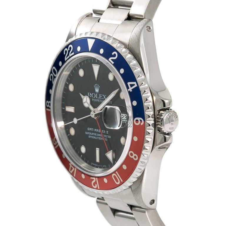 Rolex Gmt Master Ii 16710 Men S Automatic Stainless Steel Watch Pepsi Bezel