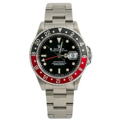 Rolex GMT-Master II 16710 Men's Automatic Watch Coke Bezel Stainless Steel