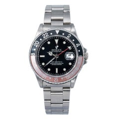 Rolex GMT-Master II 16710 Mens Watch A Serial Swiss Only W/Dial Box 40mm