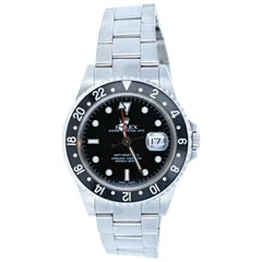 Rolex GMT Master II 16710 Watch Stainless Steel Box & Papers Tags 2001