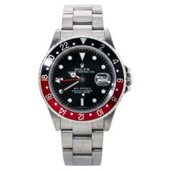 Rolex GMT Master II 16710T Coke Z Serial Rectangular Dial Automatic Watch