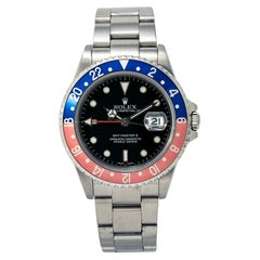 Rolex GMT-Master II 16710T Men's Automatic Watch Stainless Steel Black Dial