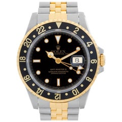 Rolex GMT-Master II 16713 18 Karat and Steel Auto Watch