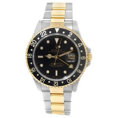 Rolex GMT Master II 16713, Black Dial, Certified and Warranty