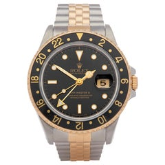 Rolex GMT-Master II 16713 Men's Stainless Steel and Yellow Gold Watch