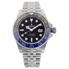Rolex GMT-Master II Batgirl Steel Black Dial Automatic Men's Watch 126710BLNR