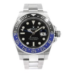 Rolex GMT-Master II 'Batman' Black Dial Steel Automatic Men's Watch 116710BLNR
