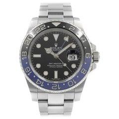 Rolex GMT-Master II Batman Black Dial Steel Automatic Men's Watch 116710BLNR