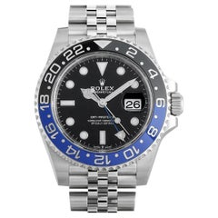 Rolex GMT-Master II Batman Jubilee Watch 126710BLNR
