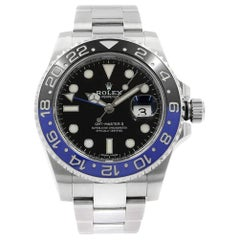 Rolex GMT Master II 'Batman', Ref 116710LN, Certified and Warranty