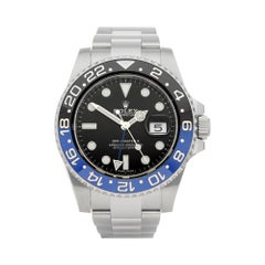 Rolex GMT-Master II Batman Stainless Steel 116710BLNR