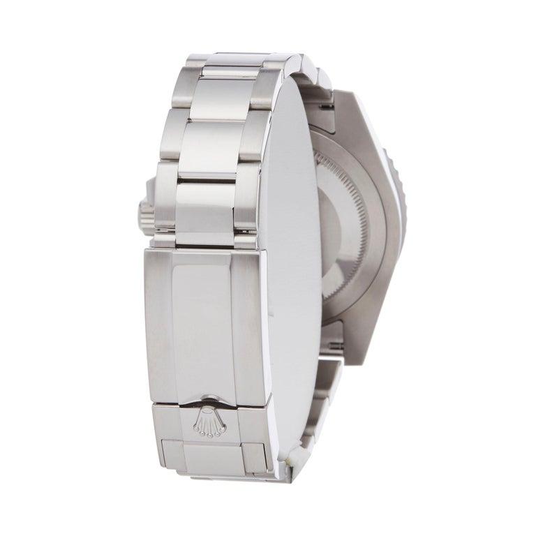 Men's Rolex GMT-Master II Batman Stainless Steel 116710BLNR Wristwatch For Sale