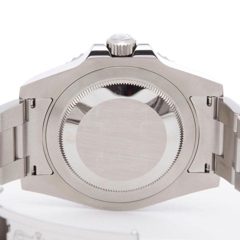 Rolex GMT-Master II Batman Stainless Steel 116710BLNR Wristwatch For Sale 2