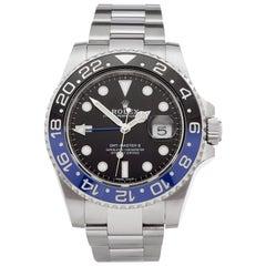 Rolex GMT Master II Batman Stainless Steel 116710BLNR Wristwatch