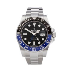 Rolex GMT Master II Batman Stainless Steel 116710BLNR Wristwatch