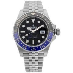 Rolex GMT-Master II Batman Steel Jubilee Black Dial Men's Watch 126710BLNR