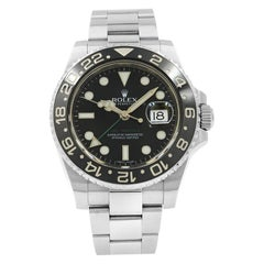 Rolex GMT-Master II Black on Black 116710LN Steel Automatic Men's Watch