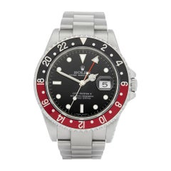 Rolex GMT-Master II Coke Rectangular Dial Stainless Steel 16710