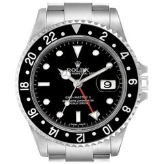 Rolex GMT Master II Error Dial Steel Men's Watch 16710