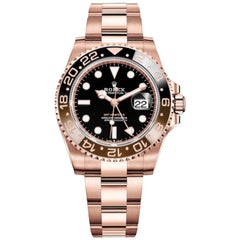 Rolex GMT-Master II Everose Root Beer 126715 Men's Watch with Box and Papers