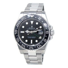 Rolex GMT-Master II 'M Serial' Stainless Steel Automatic Men's Watch 116710LN
