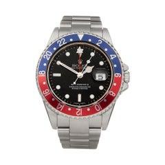 Rolex GMT Master II Pepsi Stainless Steel 16710