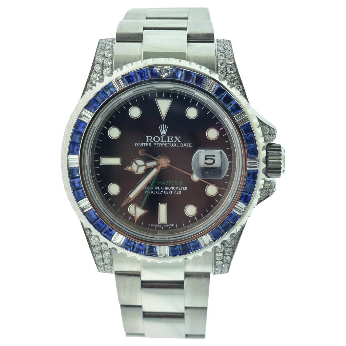 Rolex GMT-Master II Ref. 116710 Ceramic Black Bezel Steel Watch
