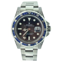 Rolex GMT-Master II Ref. 116710 Ceramic Black Bezel Steel Watch