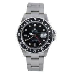 Rolex GMT Master II Reference #:16710 Rolex GMT-Master II 16710 Black Men's Auto