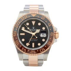 Rolex GMT-Master II Rootbeer Stainless Steel and Rose Gold 126711CHNR