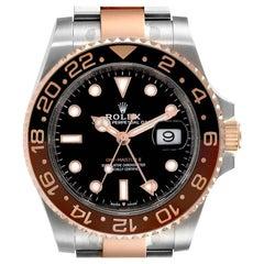 Rolex GMT Master II Steel Everose Gold Men's Watch 126711 Card