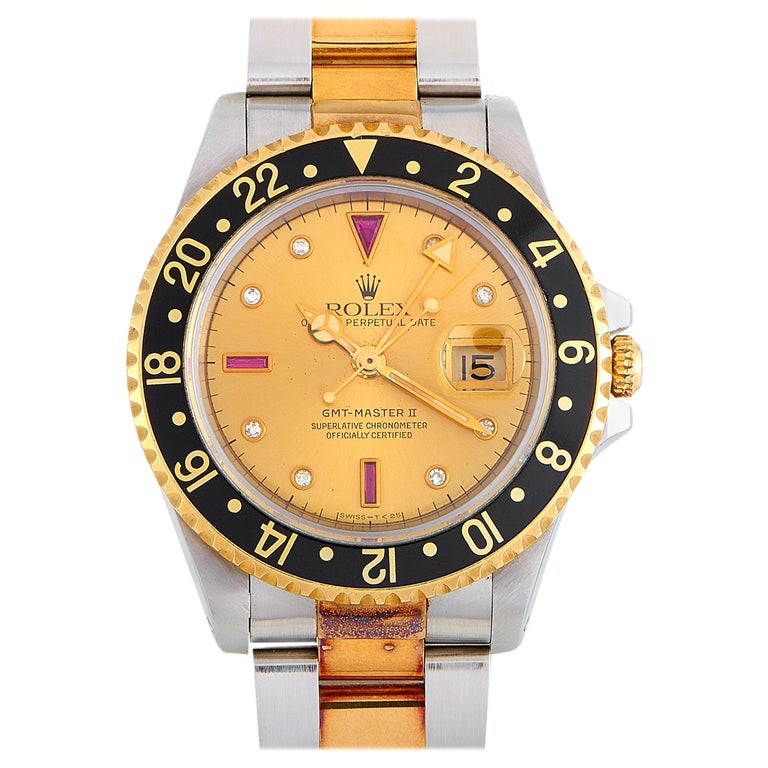 Rolex GMT-Master II Watch 16713 For Sale