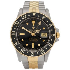 Rolex GMT-Master Nipple Dial Stainless Steel and Yellow Gold 1675