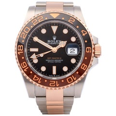 Rolex GMT-Master Root Beer 126711CHNR Men's Stainless Steel and Rose Gold Unworn