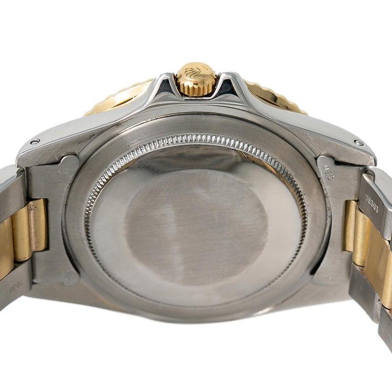 Men's Rolex GMT-Master Root Beer 1675 Automatic 18K TT Watch Matt Nipple Dial W/Papers For Sale