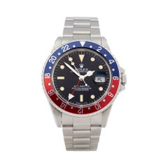 Rolex GMT Master Stainless Steel 16700 Wristwatch