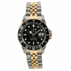 Rolex GMT Master 16753, Black Dial Certified Authentic