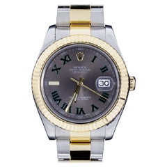 Rolex Gold and Silver Oyster, Perpetual Watch