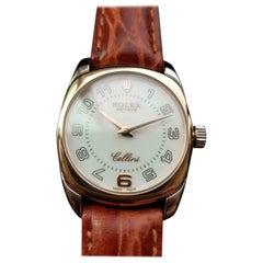 Rolex Ladies 18K Cellini Danaos Ref.6229 Dress Watch, c. 2001 Swiss Luxury LV706