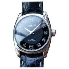 ROLEX Ladies 18K Rose and White Gold Cellini Danaos 6629, c.2001 Luxury LV706RED