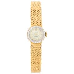 Rolex Ladies Classic 18 Karat Yellow Gold Watch