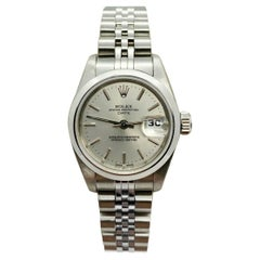 Rolex Ladies Date 79160 Silver Dial Stainless Steel Box Papers, 2007