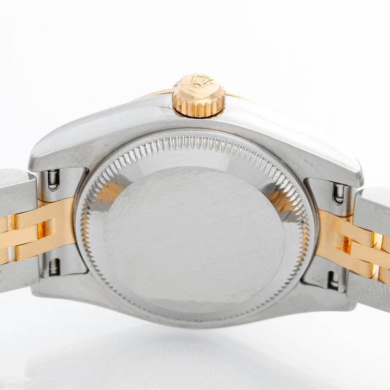 Women's Rolex Ladies Datejust 2-Tone Jubilee Watch 179173 For Sale