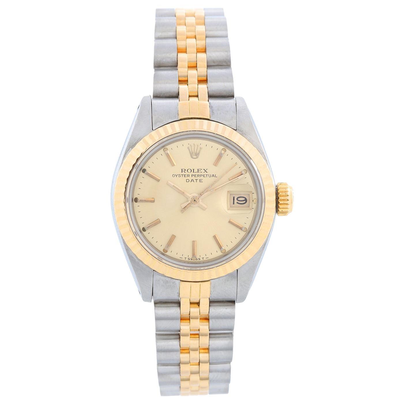 Rolex Ladies Datejust 2-Tone Watch 6917