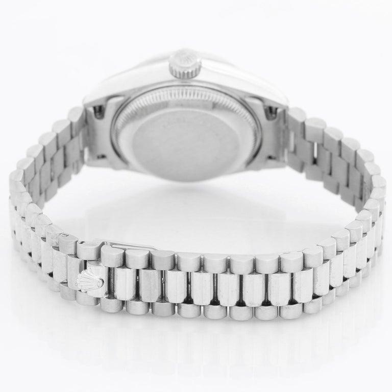 Rolex Ladies Datejust 69139 President Bracelet Watch In Excellent Condition For Sale In Dallas, TX